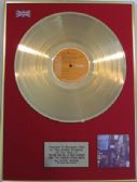 DAVID BOWIE-Ziggy Stardust - LP Gold disc